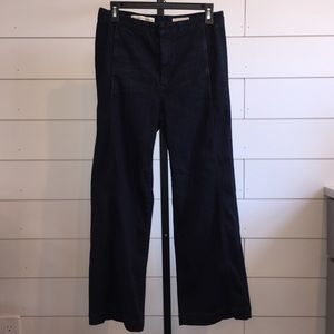 Anthropologie | Pilcro Crop Denim Trousers